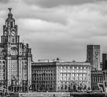 The Three Graces of Liverpool by Paul Madden