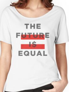 Official THE FUTURE I$ EQUAL Apparel by Hope Solo Women's Relaxed Fit T-Shirt