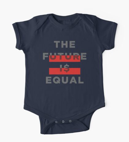 Official THE FUTURE I$ EQUAL Apparel by Hope Solo One Piece - Short Sleeve