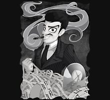 Gomez Addams- Black and White version Unisex T-Shirt