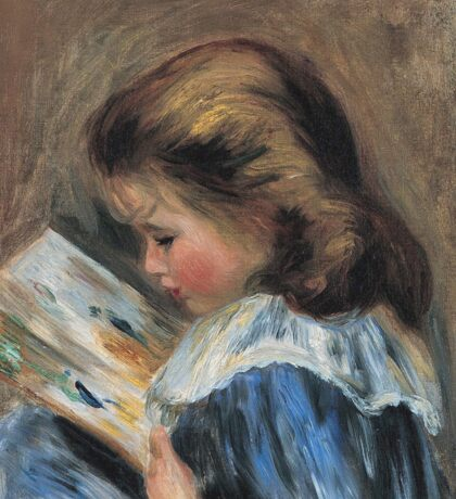 Auguste Renoir - The Picture Book (Ca. 1895) Sticker