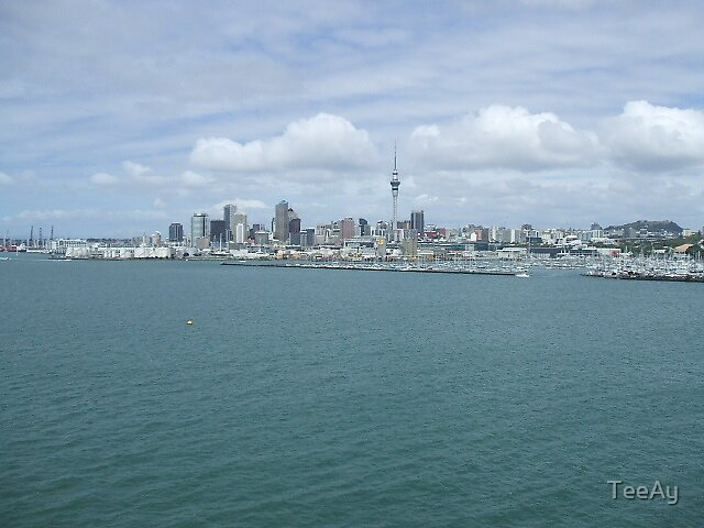 Auckland NZ by TeeAy