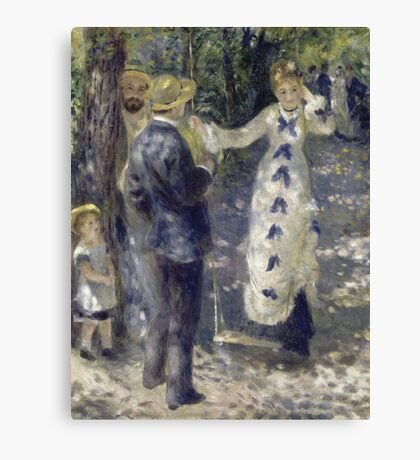 Auguste Renoir - The Swing Canvas Print