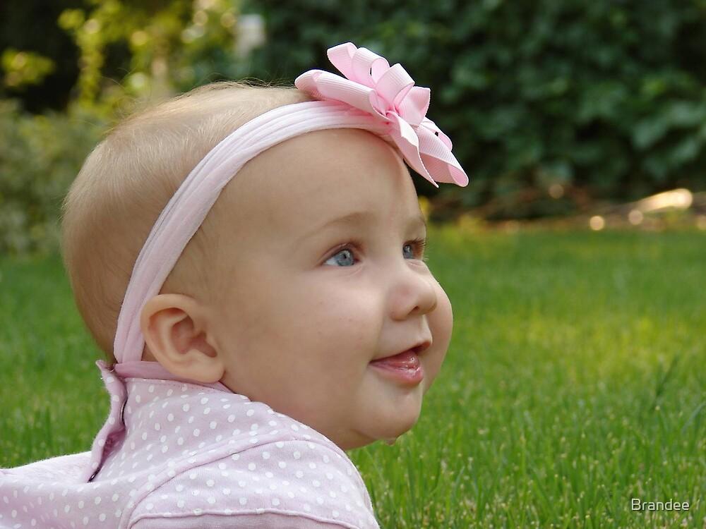 My sweet little girl. by Brandee