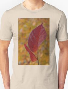 The Warm Glow of Fall - a Vertical View T-Shirt