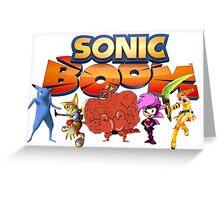 Sonic Boom Parody T-Shirt Greeting Card