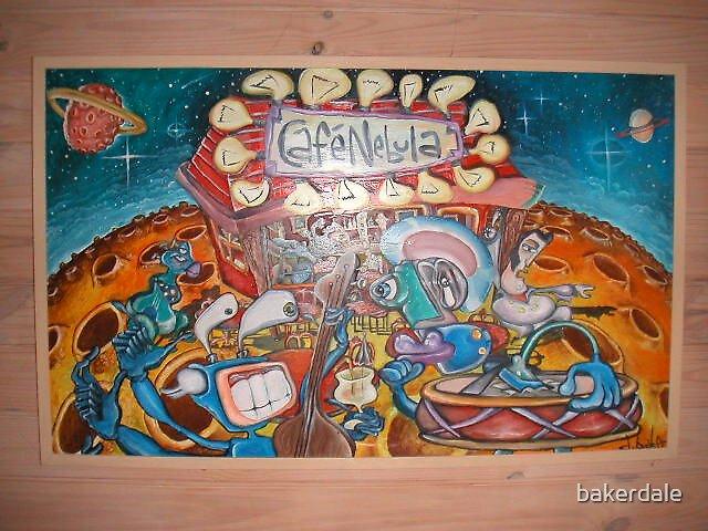 Cafe Nebula by bakerdale