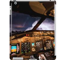 Thunderstorms ahead iPad Case/Skin