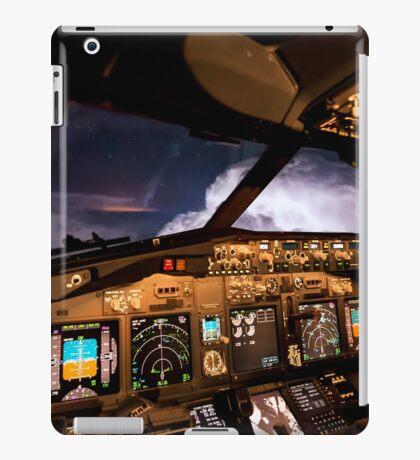 Thunderstorms ahead iPad Case/Skin