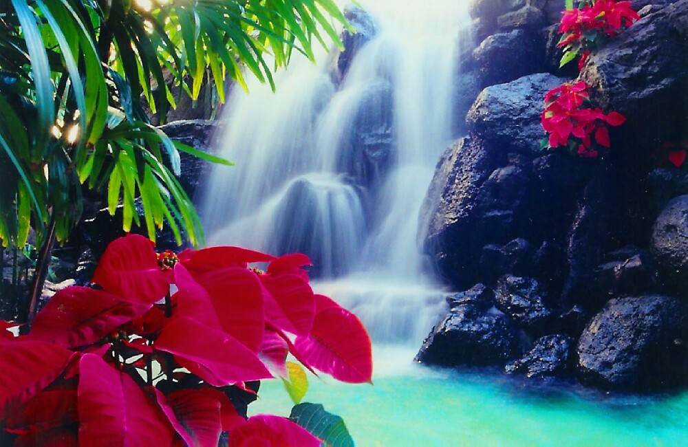 Waterfall in a Mall by Susan Zohn