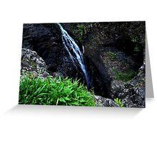 Lamington Waterfall Greeting Card