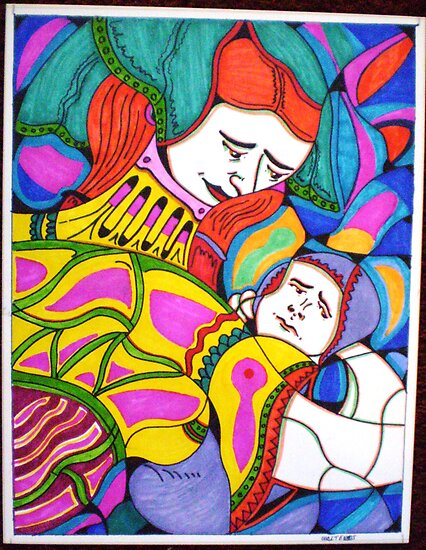mother and child by madvlad