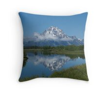 Snake River Reflection Throw Pillow