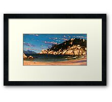 Alma Shadows Framed Print