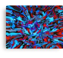 abstract, geometric, expressionist, color Canvas Print