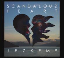 Scandalous Heart artwork (Jez Kemp album) One Piece - Short Sleeve
