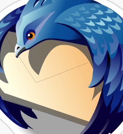 Thunder Bird Logo Sticker