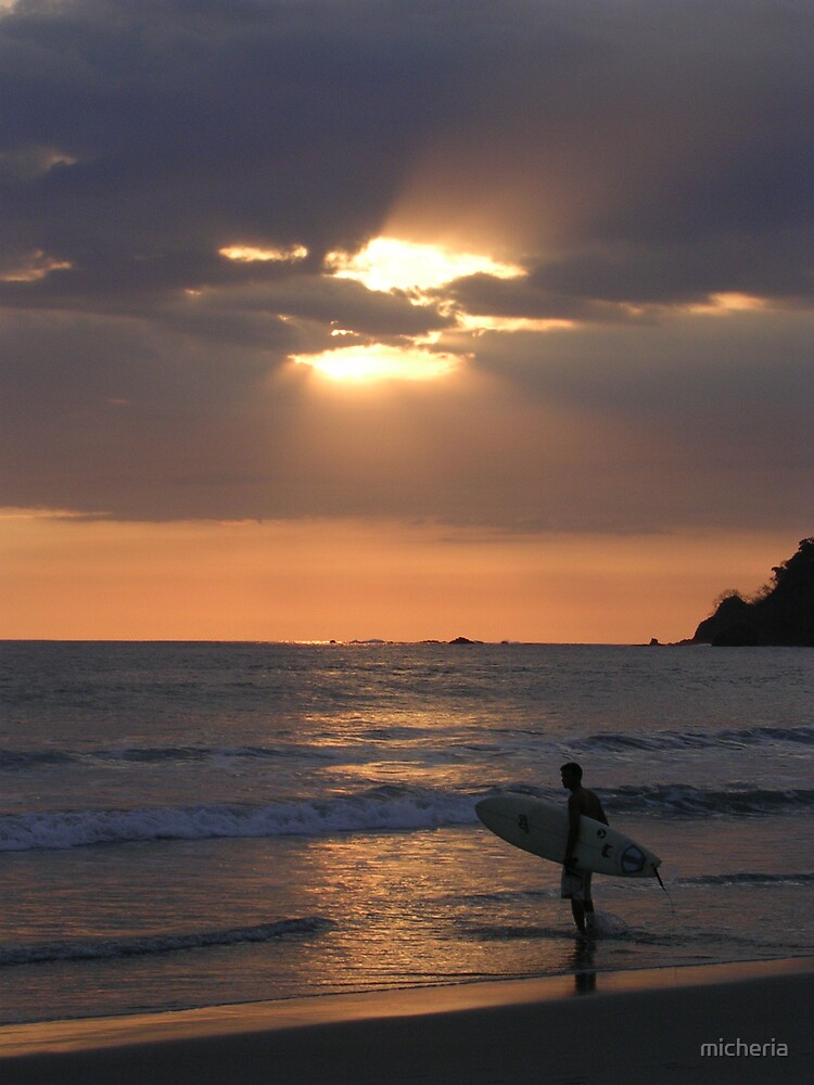Costa Rica surf by micheria