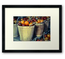 Baskets of Tomatoes Framed Print
