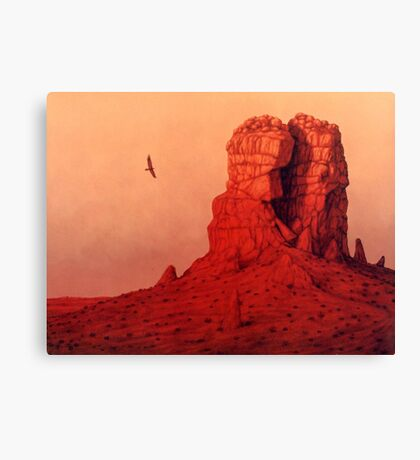 The Monolith Canvas Print