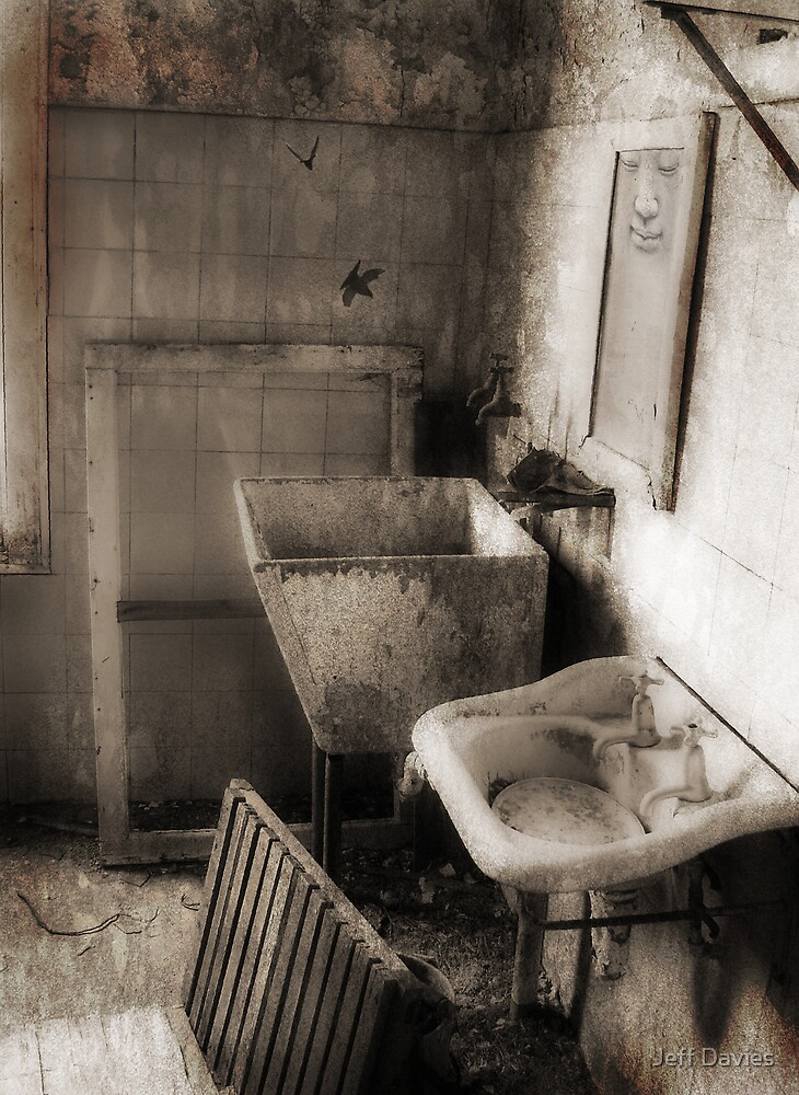 Buddha's bathroom by Jeff Davies