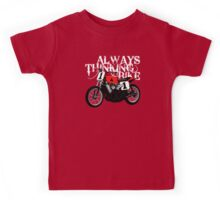 Always thinking bike Kids Tee