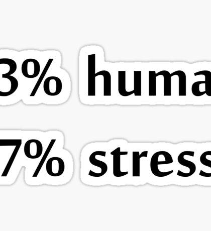 stress Sticker