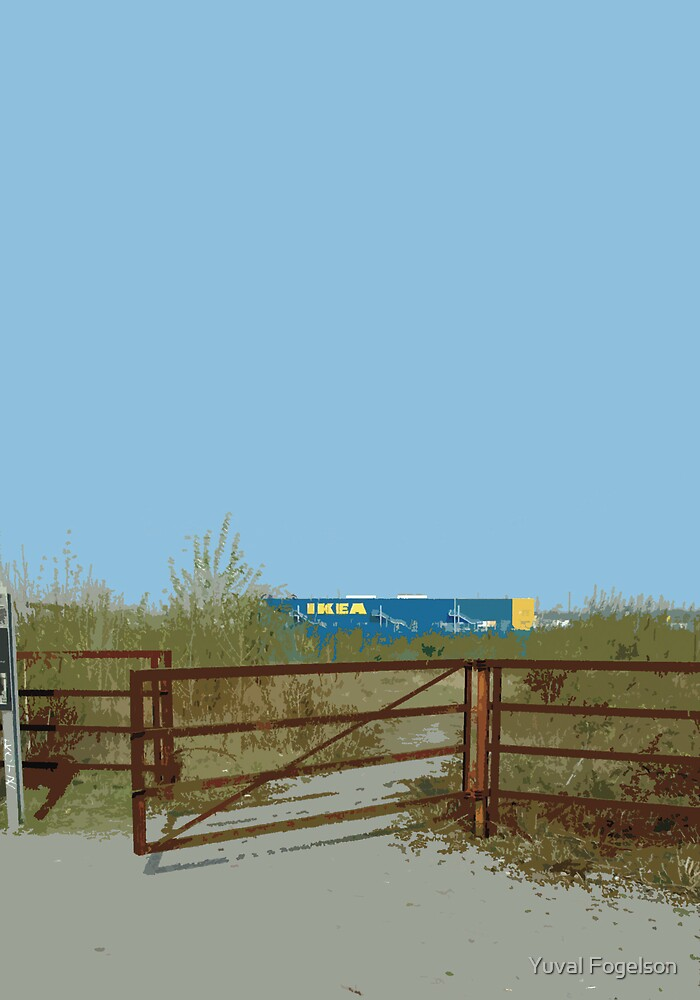 IKEA fence by Yuval Fogelson