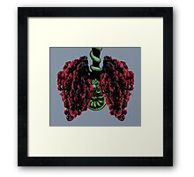 Pohutukawa Tree Lungs, from the New Zealand Forest Framed Print