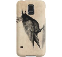 Crow in crown Samsung Galaxy Case/Skin