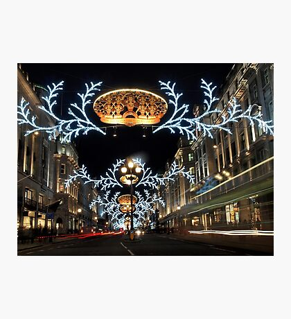 Christmas in London Photographic Print