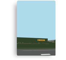 ikea highway Canvas Print