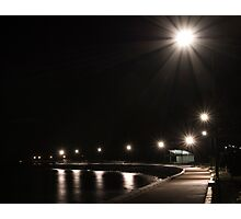 Sandgate at night Photographic Print