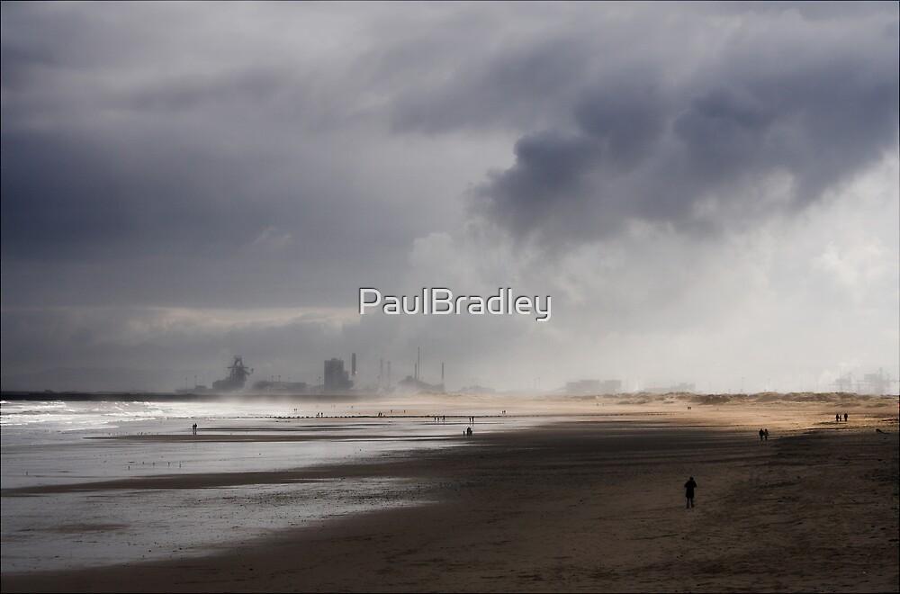 Beach Scene by PaulBradley