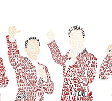 Jersey Boys by stagedoormerch