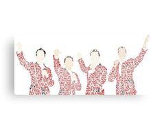 Jersey Boys Canvas Print