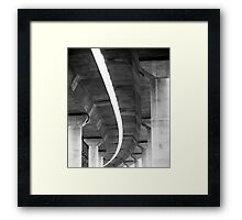 freeway # 4 Framed Print
