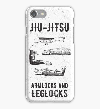 Jiu-jitsu. Armlocks and leglocks. iPhone Case/Skin
