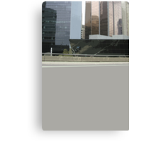 empty city Canvas Print