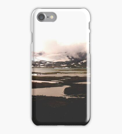NORWAY: glaciers and lakes iPhone Case/Skin