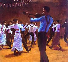 A Bush Dance by Cary McAulay
