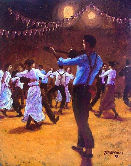A Bush Dance by Cary McAulay