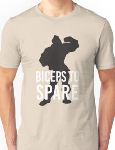 Biceps to Spare - Gatson inspired by Last Petal Tees Unisex T-Shirt