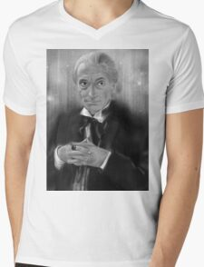 First Doctor Who Mens V-Neck T-Shirt