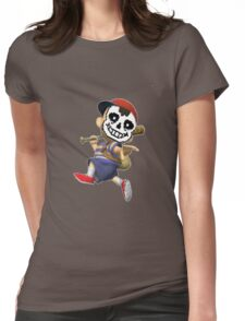 NESS IS SANS Womens Fitted T-Shirt