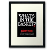 BASKET CASE Framed Print