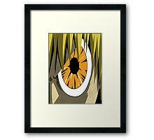 Zatch Bell fury eye  Framed Print