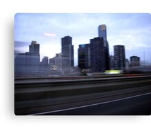 Melbourne view Canvas Print