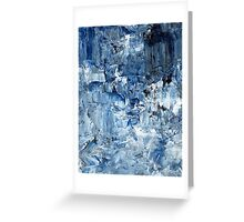 Ebb and flow across lost ice paradise Greeting Card