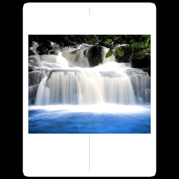 Blue Waterfall by kelek